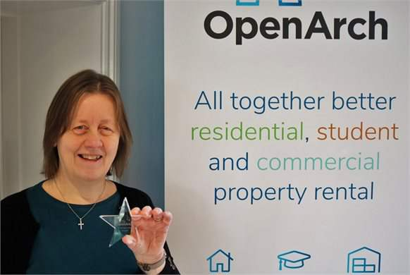 OpenArch star award!