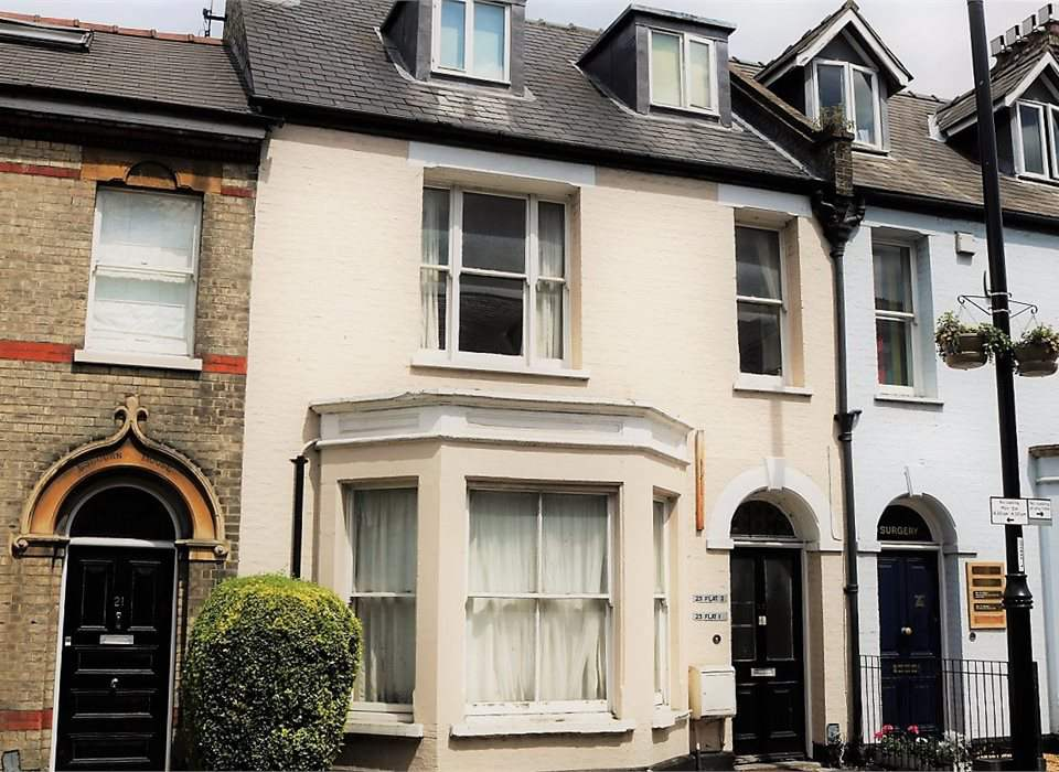 Flat 2, 23 Mill Road, Cambridge, CB1 2AB
